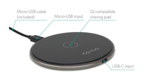 Epico Wireless Pad White ładowarka indukcyjna iSpot